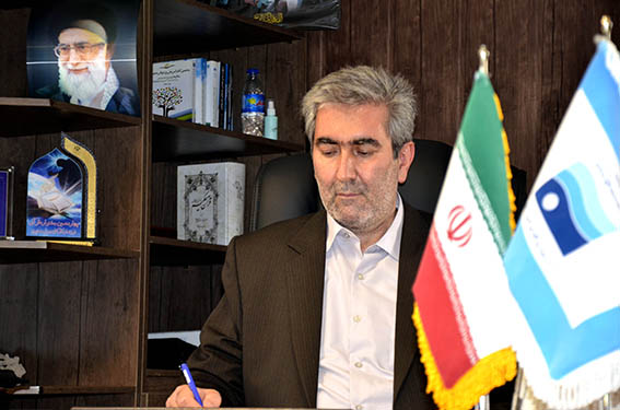 پیام تبریک مدیرعامل  شرکت آب منطقه ای کرمانشاه به مناسبت فرا رسیدن هفته دولت و روز کارمند