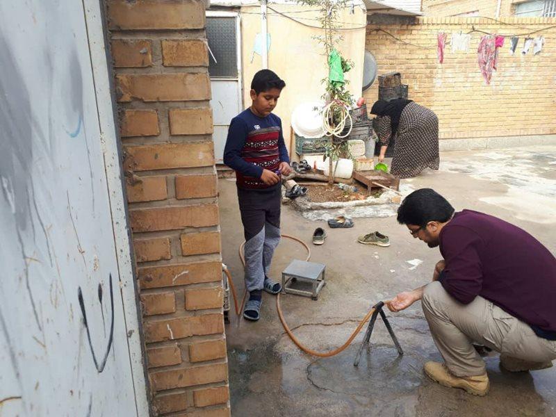 بازدید مدیرکل دفتر مدیریت بحران وزارت نیرو از مناطق زلزله زده کرمانشاه